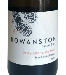Rowanston on the Track Blanc de Noir
